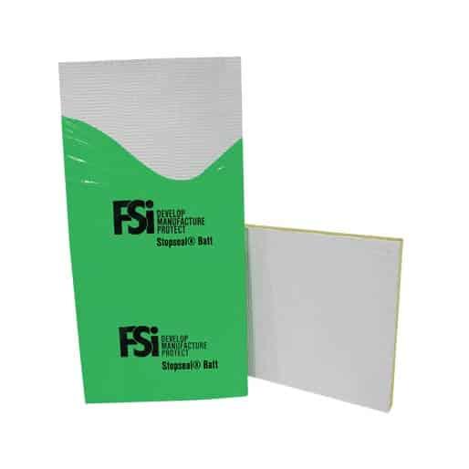 FSI brandwerende plaat in plastic folie