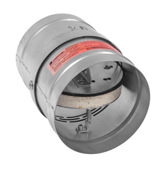 mercor fid pro ronde brandklep doorvoeren