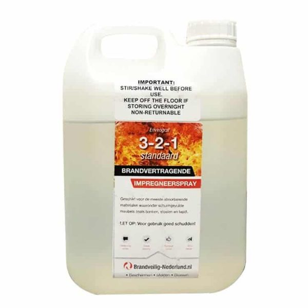 2 liter brandwerend impregneermiddel