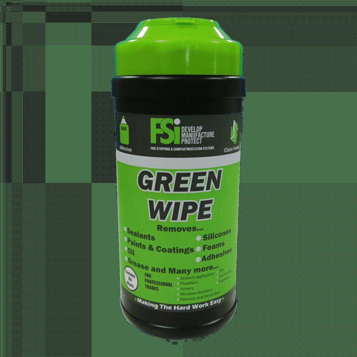 green wipe antibacteriële doekjes