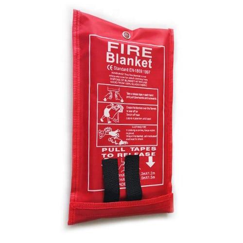 blusdeken branddeken voor blussen klein vuur
