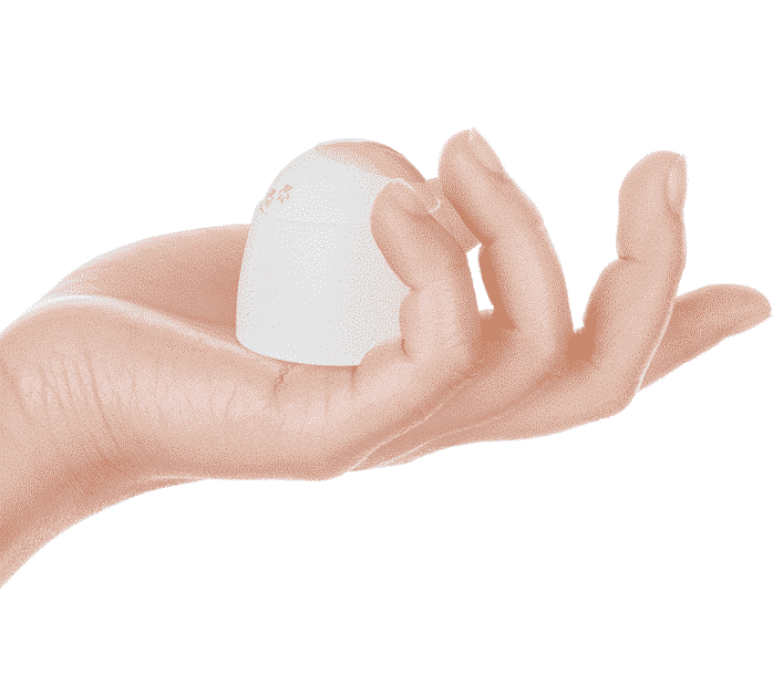 cavius bewegingsensor met hand