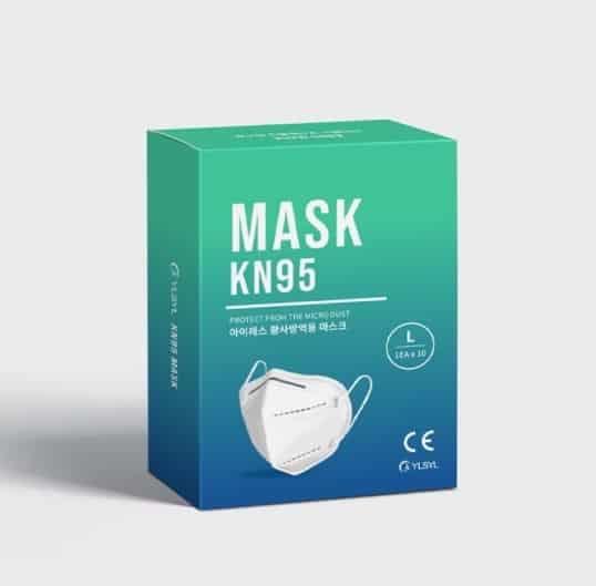 FFP2 corona gezichtsmasker