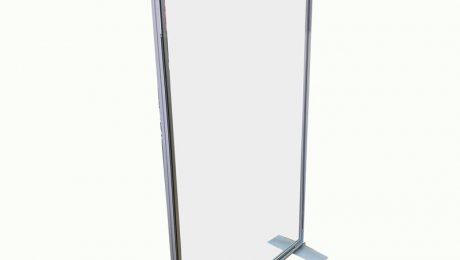 vrijstaand corona scherm 120cm x 200cm