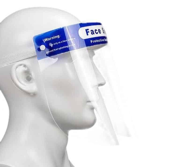 anticondens gezichtsspatscherm