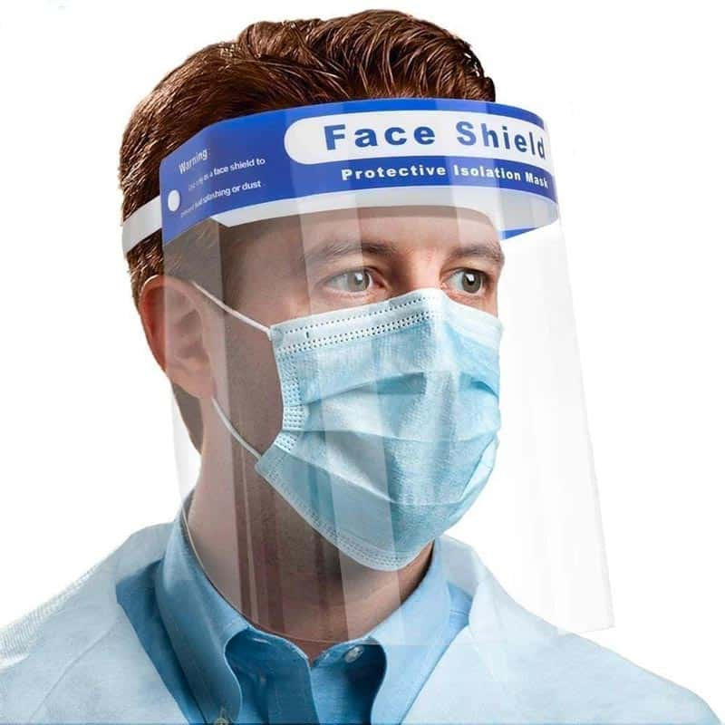 gezicht spatmasker