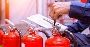 controle brandblusser druk